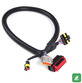 Vehicle low-voltage wiring harness