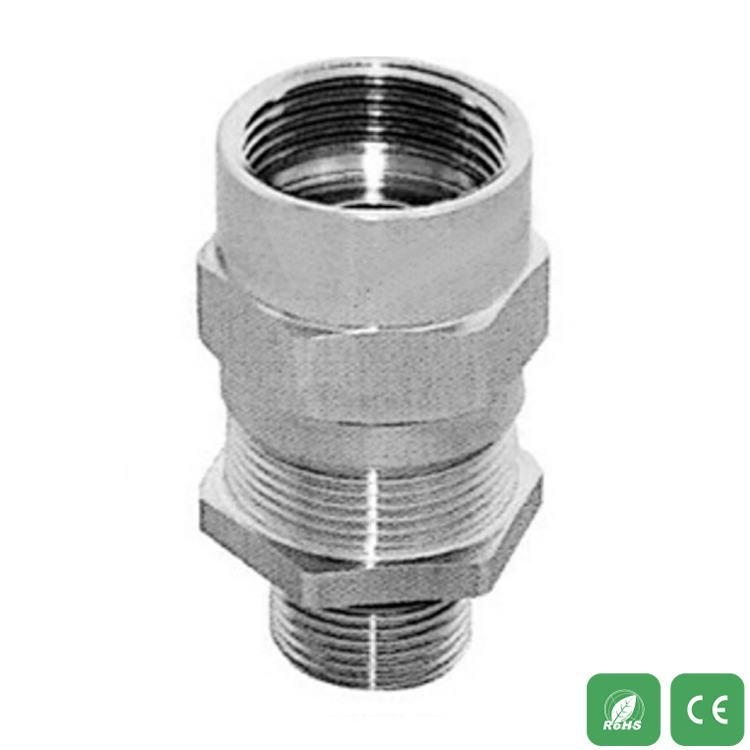 Explosion-proof armored flame inside and outside the stainless steel cable connector BGX-EX3