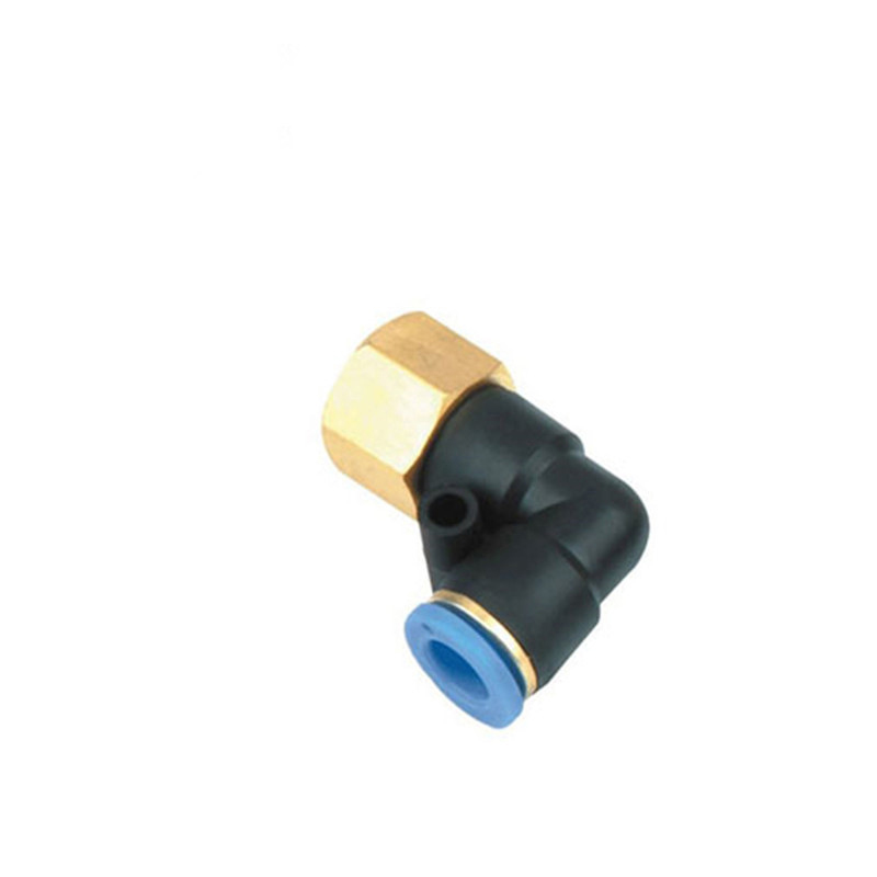 PLF internal thread right angle pipe joint